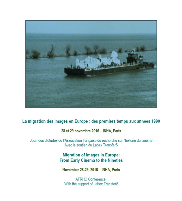 La migration des images en Europe: des premiers temps aux années 1990